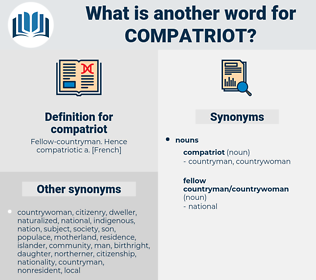 compatriot, synonym compatriot, another word for compatriot, words like compatriot, thesaurus compatriot