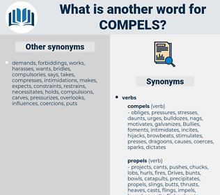 compels, synonym compels, another word for compels, words like compels, thesaurus compels