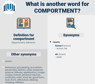 comportment, synonym comportment, another word for comportment, words like comportment, thesaurus comportment
