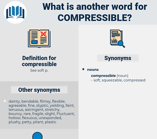 compressible, synonym compressible, another word for compressible, words like compressible, thesaurus compressible