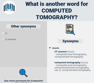 computed tomography, synonym computed tomography, another word for computed tomography, words like computed tomography, thesaurus computed tomography