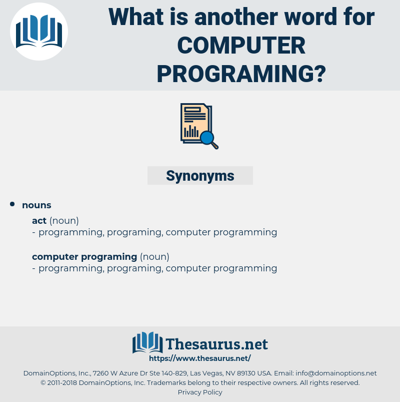 computer programing, synonym computer programing, another word for computer programing, words like computer programing, thesaurus computer programing
