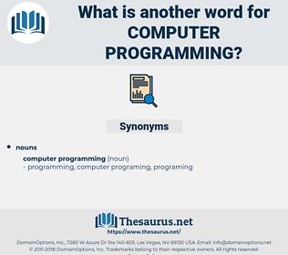 computer programming, synonym computer programming, another word for computer programming, words like computer programming, thesaurus computer programming