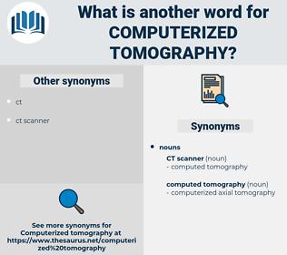 computerized tomography, synonym computerized tomography, another word for computerized tomography, words like computerized tomography, thesaurus computerized tomography