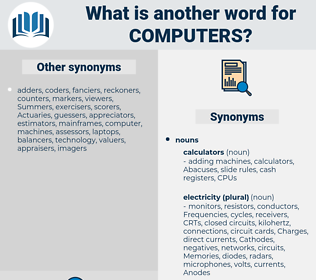 computers, synonym computers, another word for computers, words like computers, thesaurus computers