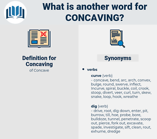 Concaving, synonym Concaving, another word for Concaving, words like Concaving, thesaurus Concaving