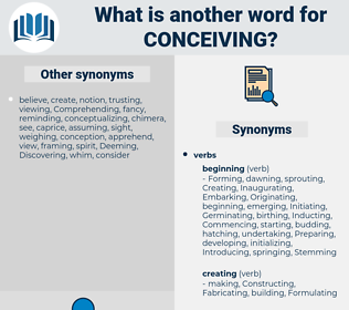 Conceiving, synonym Conceiving, another word for Conceiving, words like Conceiving, thesaurus Conceiving