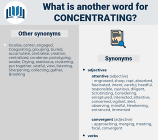 Concentrating, synonym Concentrating, another word for Concentrating, words like Concentrating, thesaurus Concentrating