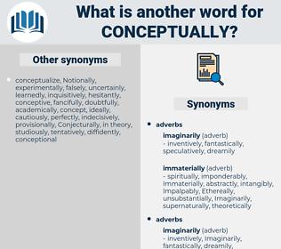 conceptually, synonym conceptually, another word for conceptually, words like conceptually, thesaurus conceptually