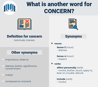 concern, synonym concern, another word for concern, words like concern, thesaurus concern