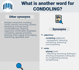 Condoling, synonym Condoling, another word for Condoling, words like Condoling, thesaurus Condoling