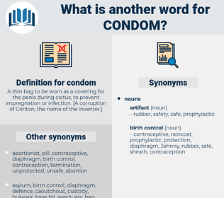 condom, synonym condom, another word for condom, words like condom, thesaurus condom