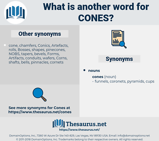 cones, synonym cones, another word for cones, words like cones, thesaurus cones