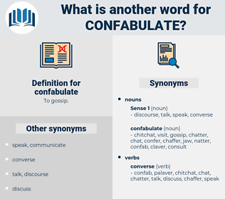 confabulate, synonym confabulate, another word for confabulate, words like confabulate, thesaurus confabulate