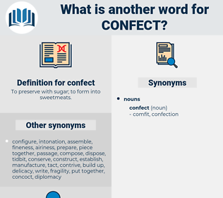 confect, synonym confect, another word for confect, words like confect, thesaurus confect