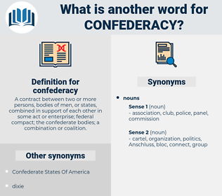 confederacy, synonym confederacy, another word for confederacy, words like confederacy, thesaurus confederacy