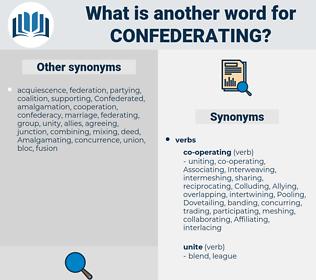 Confederating, synonym Confederating, another word for Confederating, words like Confederating, thesaurus Confederating