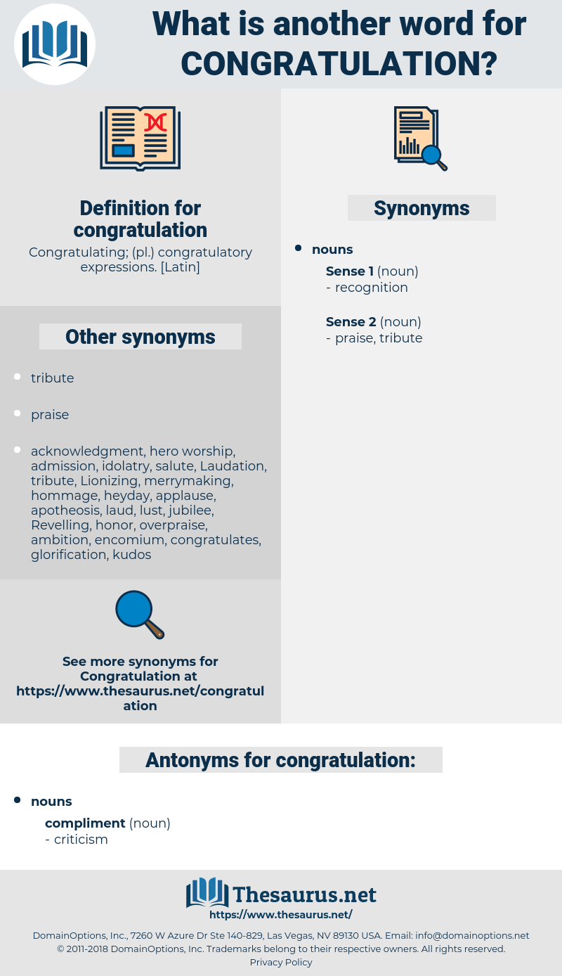 congratulation, synonym congratulation, another word for congratulation, words like congratulation, thesaurus congratulation