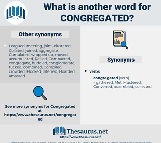 Congregated, synonym Congregated, another word for Congregated, words like Congregated, thesaurus Congregated