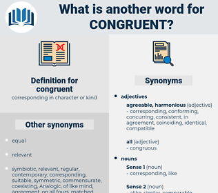 congruent, synonym congruent, another word for congruent, words like congruent, thesaurus congruent