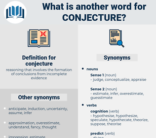 conjecture, synonym conjecture, another word for conjecture, words like conjecture, thesaurus conjecture