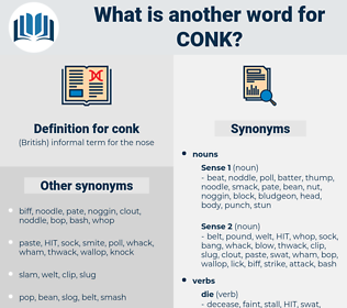 conk, synonym conk, another word for conk, words like conk, thesaurus conk