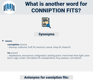 conniption fits, synonym conniption fits, another word for conniption fits, words like conniption fits, thesaurus conniption fits