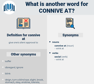 connive at, synonym connive at, another word for connive at, words like connive at, thesaurus connive at