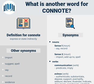 connote, synonym connote, another word for connote, words like connote, thesaurus connote
