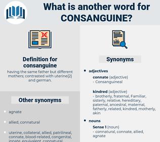 consanguine, synonym consanguine, another word for consanguine, words like consanguine, thesaurus consanguine