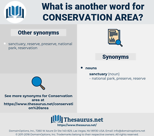 conservation area, synonym conservation area, another word for conservation area, words like conservation area, thesaurus conservation area