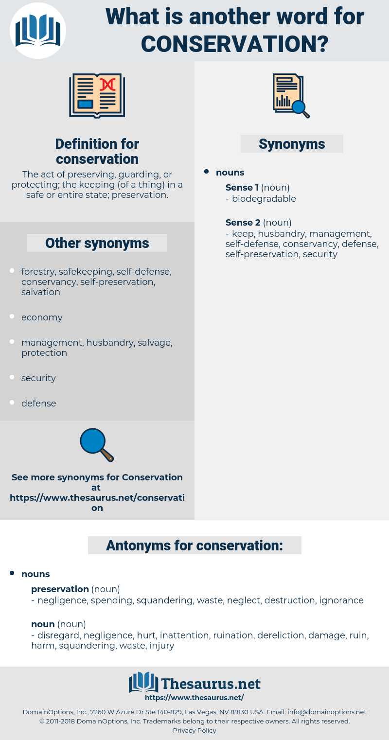 conservation, synonym conservation, another word for conservation, words like conservation, thesaurus conservation