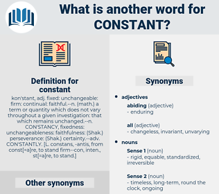 constant, synonym constant, another word for constant, words like constant, thesaurus constant