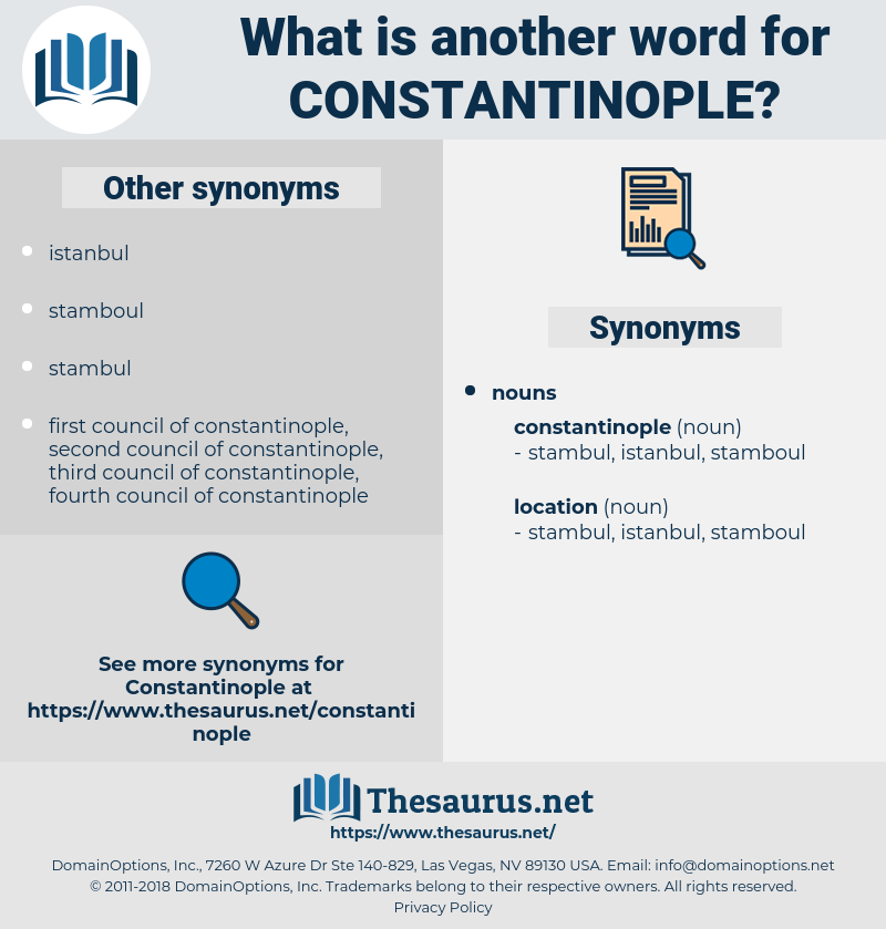 constantinople, synonym constantinople, another word for constantinople, words like constantinople, thesaurus constantinople