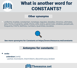 constants, synonym constants, another word for constants, words like constants, thesaurus constants