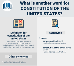 constitution of the united states, synonym constitution of the united states, another word for constitution of the united states, words like constitution of the united states, thesaurus constitution of the united states