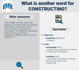 Constructing, synonym Constructing, another word for Constructing, words like Constructing, thesaurus Constructing