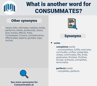consummates, synonym consummates, another word for consummates, words like consummates, thesaurus consummates