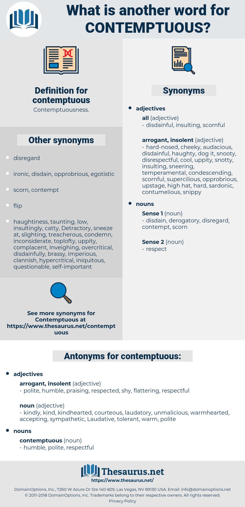 contemptuous, synonym contemptuous, another word for contemptuous, words like contemptuous, thesaurus contemptuous