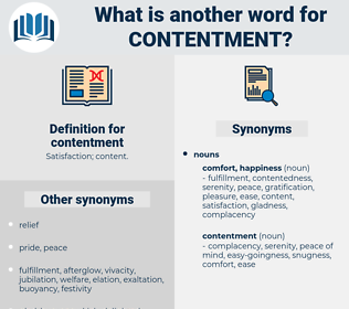 contentment, synonym contentment, another word for contentment, words like contentment, thesaurus contentment