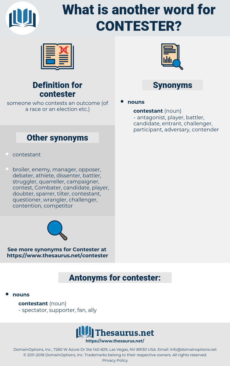 contester, synonym contester, another word for contester, words like contester, thesaurus contester