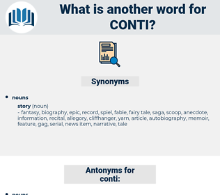 conti, synonym conti, another word for conti, words like conti, thesaurus conti