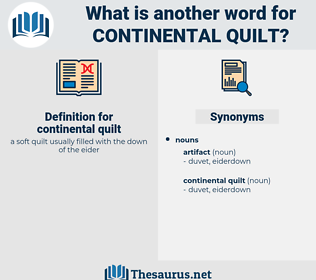 continental quilt, synonym continental quilt, another word for continental quilt, words like continental quilt, thesaurus continental quilt