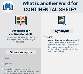 continental shelf, synonym continental shelf, another word for continental shelf, words like continental shelf, thesaurus continental shelf