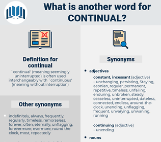 continual, synonym continual, another word for continual, words like continual, thesaurus continual
