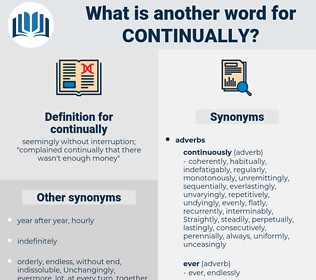 continually, synonym continually, another word for continually, words like continually, thesaurus continually