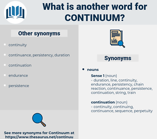 continuum, synonym continuum, another word for continuum, words like continuum, thesaurus continuum