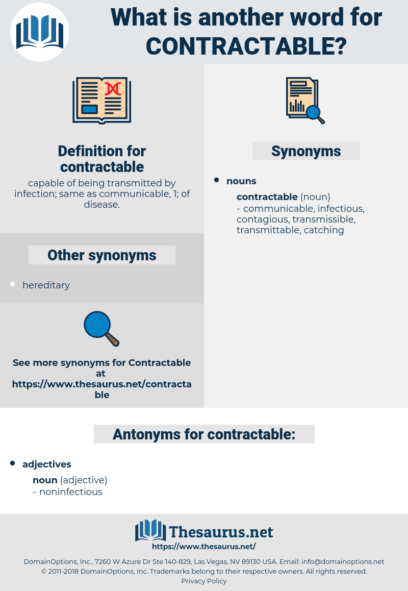 contractable, synonym contractable, another word for contractable, words like contractable, thesaurus contractable