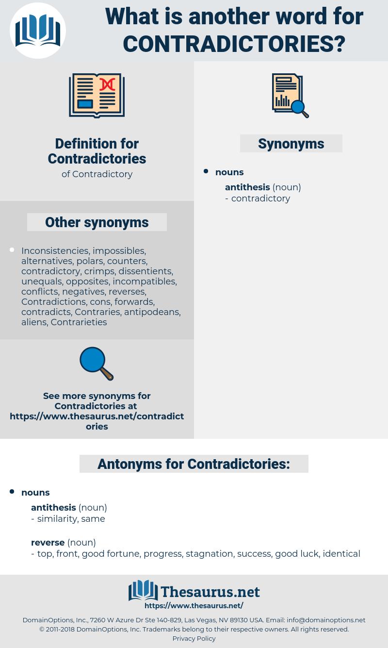 antithesis examples