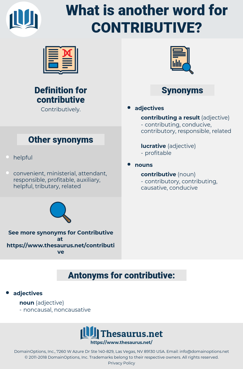 contributive, synonym contributive, another word for contributive, words like contributive, thesaurus contributive